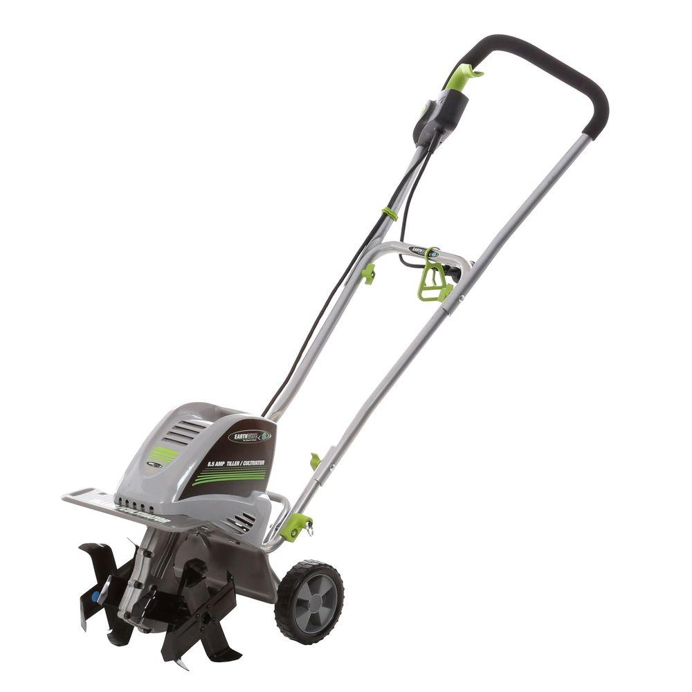 Tilling Backyard: Earthwise 11 In. 8.5 Amp Electric Tiller And Cultivator