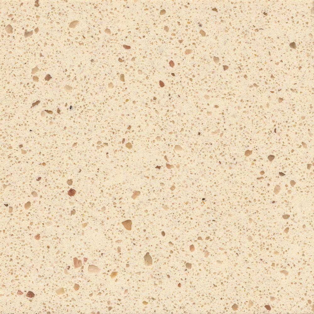 Silestone 2 in x 4 in quartz countertop sample in capri for 2 inch quartz countertop
