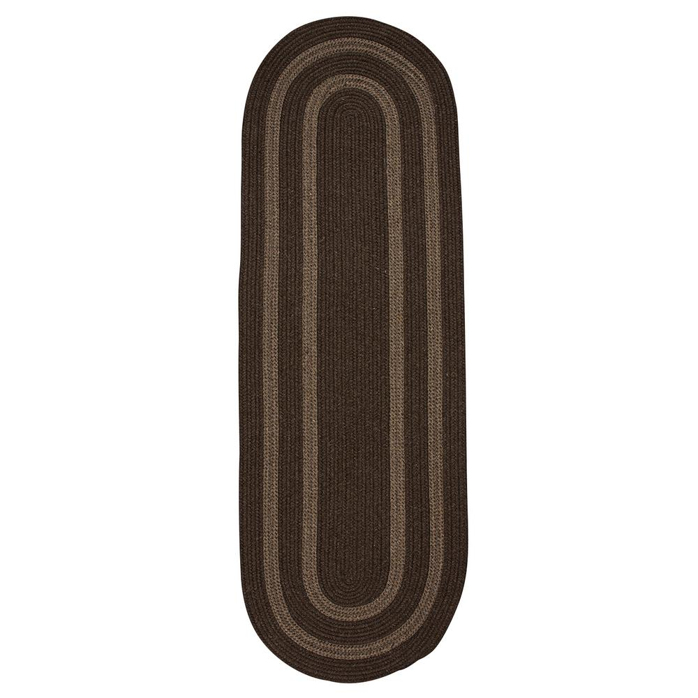 Home Decorators Collection Paige Rusted Brown 2 Ft X 8 Braided Runner Rug