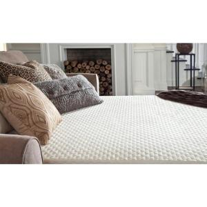 Miraculous Plushbeds Slice Of Heaven Queen 4 5 In Memory Foam Sofa Bed Ocoug Best Dining Table And Chair Ideas Images Ocougorg