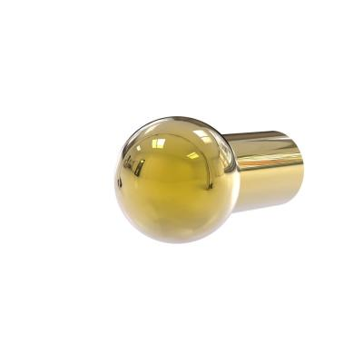 3/4 in. Cabinet Knob in Polished Brass