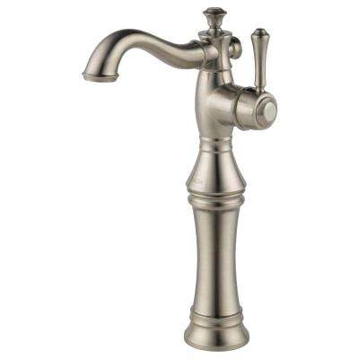 Cassidy Single Hole Single-Handle Vessel Bathroom Faucet in Stainless