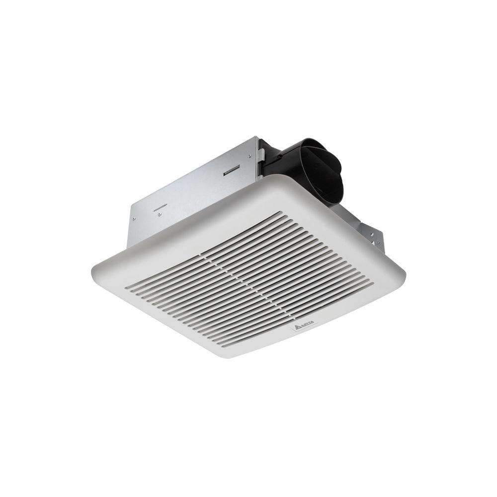 Delta Slim 70 CFM Wall/Ceiling Dual Speed Exhaust Bath Fan-DISCONTINUED