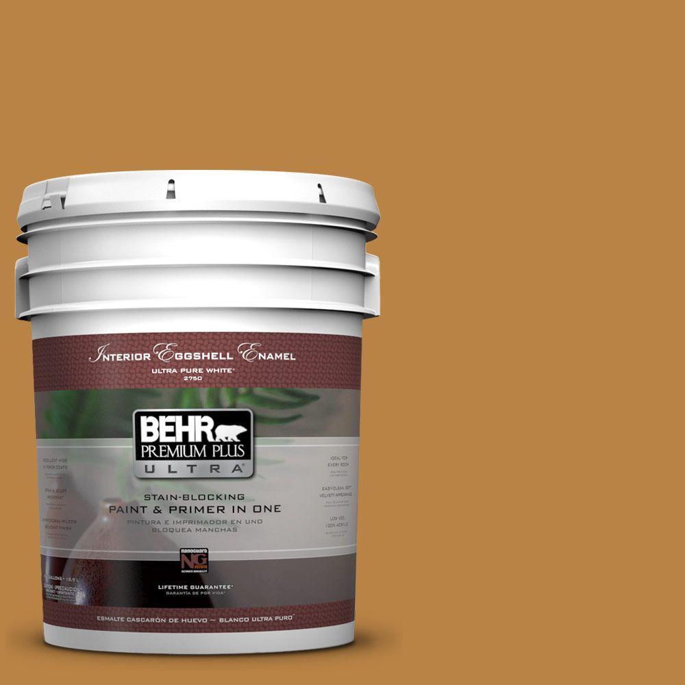 BEHR Premium Plus Ultra 5-gal. #M270-7 Wild Ginger Eggshell Enamel Interior Paint