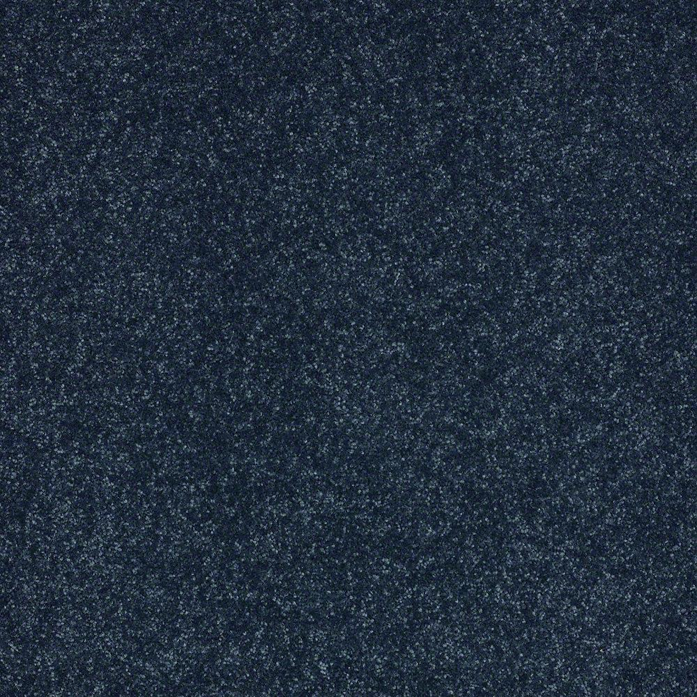 Home Decorators Collection Full Bloom II - Color Caribbean Sea Texture 15 ft. Carpet