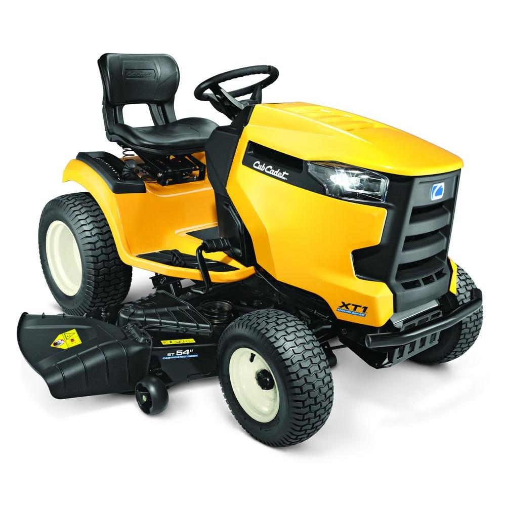 Cub Cadet Xt2 Home Depot >> Cub Cadet Xt1 Enduro Series St 54 In Fabricated Deck 24 Hp V Twin