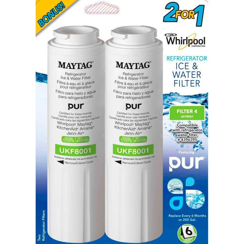 Whirlpool Bottom Freezer Water Filter (2-Pack)-DISCONTINUED