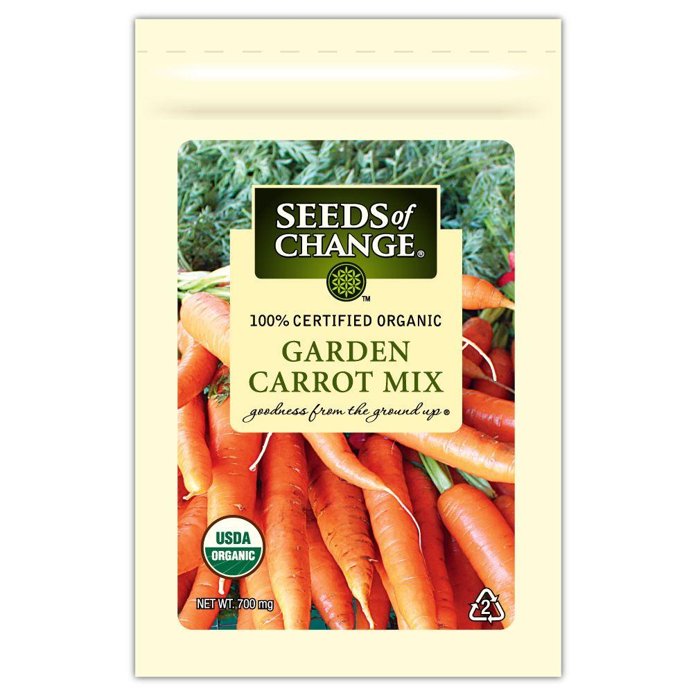 Seeds of Change Garden Carrot Seed