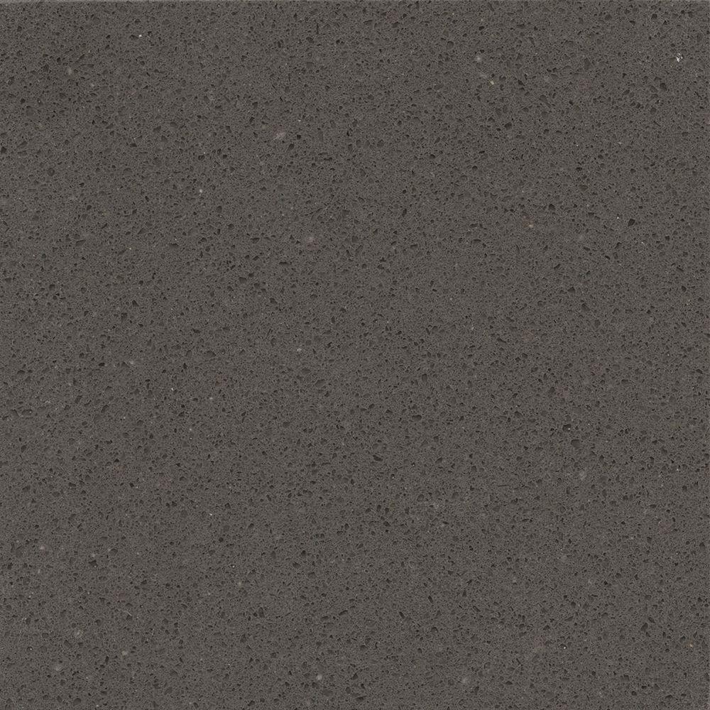 Silestone 2 in x 4 in quartz countertop sample in for Silestone gris marengo