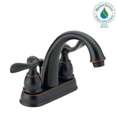 Awesome Windemere 4 In. Centerset 2 Handle Bathroom Faucet With Metal Drain  Assembly In Oil. Oil Rubbed Bronze; Stainless ... Idea