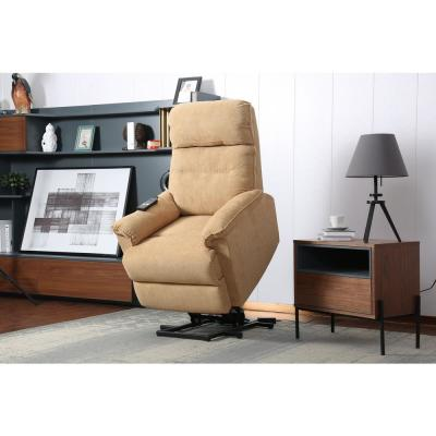 Yellow Power Lift Recliner Chair with Remote