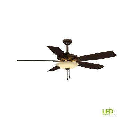 rustic fan light rustic bedroom integrated led indoor low profile oil rubbed bronze ceiling fan with light rustic fans lighting the home depot
