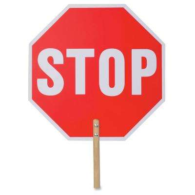18 in. x 18 in. Handheld Stop Sign