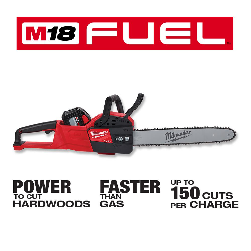 """Grinder /& Battery NOT Incl. Milwaukee M18 Fuel Chainsaw w//16/""""Lg Blade Kit Only"""
