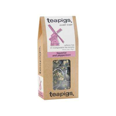 Liquorice and Peppermint 15 Tea Bags Temples (6-Boxes)
