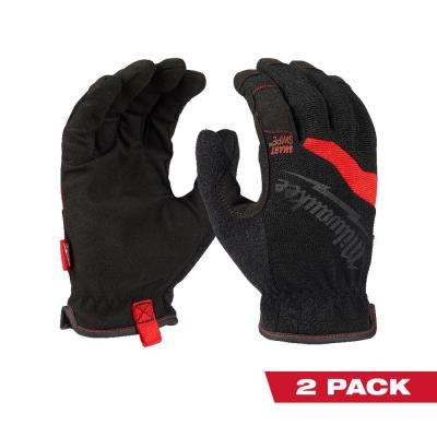 FreeFlex X-Large Work Gloves (2-Pack)