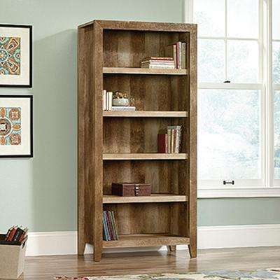 Dakota Pass Craftsman Oak Open Bookcase