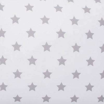 Stars 200-Thread Count Cotton Percale Fitted Sheet