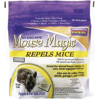 Mouse Magic Ready-to-Use Scent Packs (12-Pack)