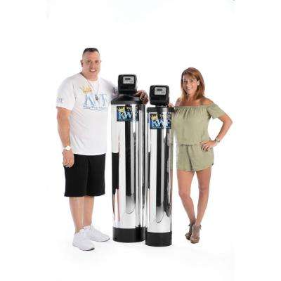 Whole Home Alkaline Water Filter with Built In Anti-Scale Magnetic Ionizer Treats Homes with up to 4 Bathrooms