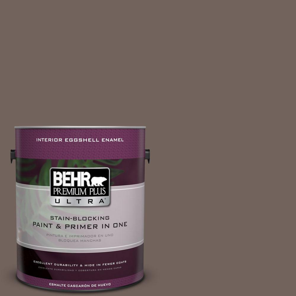 BEHR Premium Plus Ultra 1-gal. #780B-6 Mountain Ridge Eggshell Enamel Interior Paint