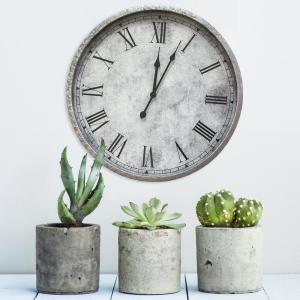 Click here to buy  Gaston Gray Wall Clock.
