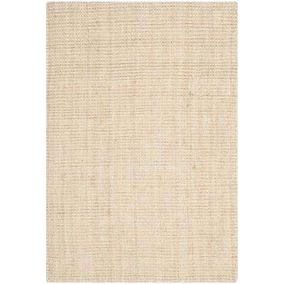 Natural Fiber Ivory 5 ft. x 8 ft. Area Rug