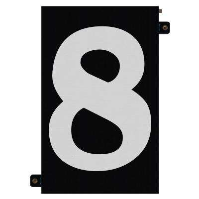 5 in. Modular LED Illuminated House Number 8