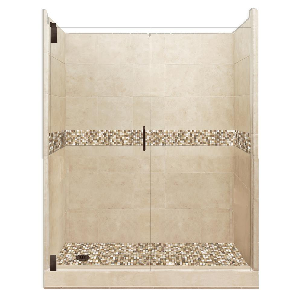 American Bath Factory Roma Grand Hinged 32 In X 60 In X