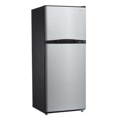 9.9 cu. ft. Top Freezer Refrigerator in Stainless Steel