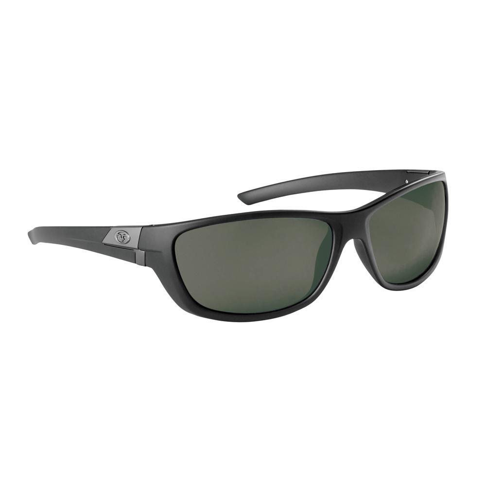 e7ff50148d3 Flying Fisherman Bahia Polarized Sunglasses Matte Black Frame with Smoke  Lens-7394BS - The Home Depot