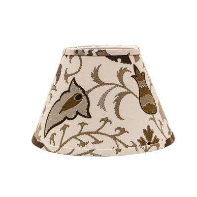 10 in. x 13 in. Multi-Colored Lamp Shade