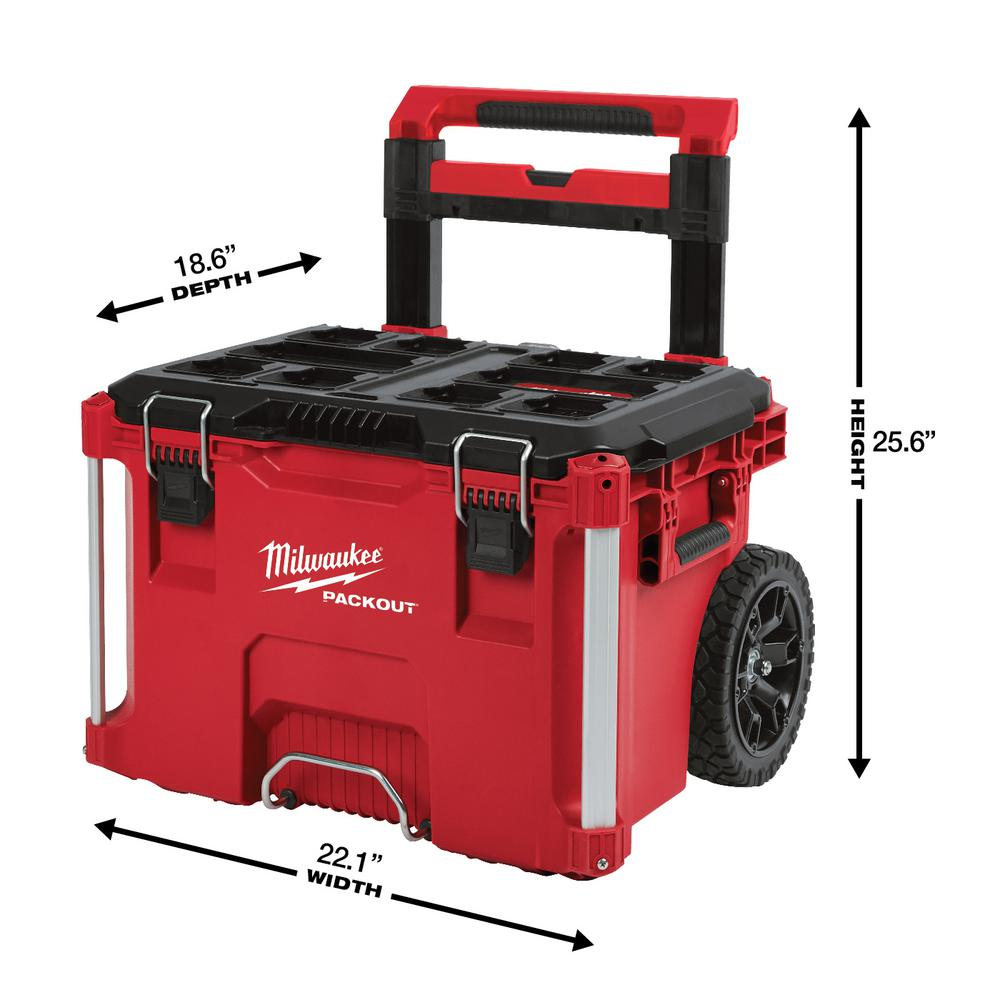 Stupendous Milwaukee 22 In Packout Modular Tool Box Storage System Machost Co Dining Chair Design Ideas Machostcouk