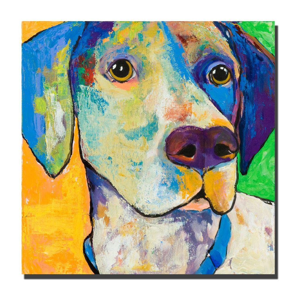 Trademark Fine Art 24 in. x 24 in. Yancy Canvas Art
