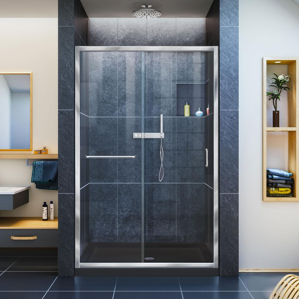 Framed - DreamLine - Shower Doors - Showers - The Home Depot