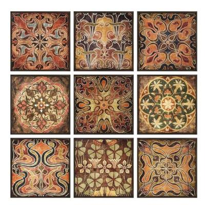 12.25 in. x 12.5 in. Tuscan Wood Wall Panel (Set of 9)