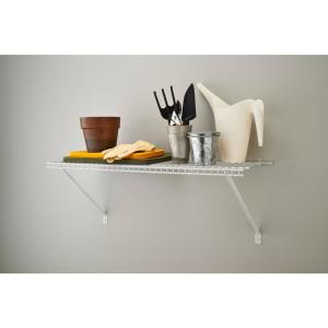 ClosetMaid 3 ft. x 12 inch Ventilated Wire Shelf Kit by ClosetMaid