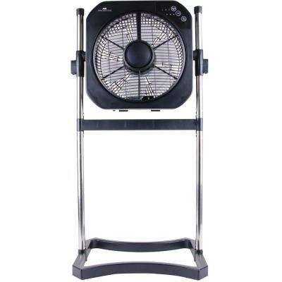 12 in. 3-Speed 3-in-1 Stand Fan with Swirl Cool Technology