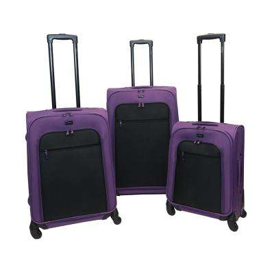 Spectra 3-Piece Majestic Luggage Set