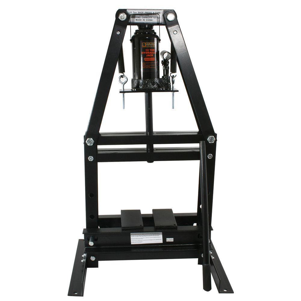 12-Ton A-Frame Shop Press