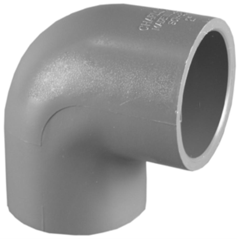 2 in. Sch 80 PVC 90-Degree S x S Elbow