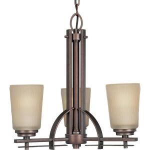 Progress Lighting Riverside Collection 18.88 in. 3-Light Chandelier Deals