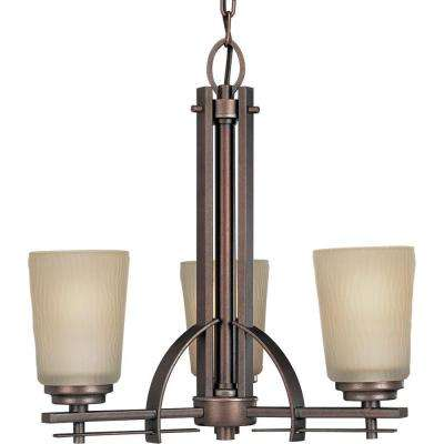 Riverside Collection 18.88 in. 3-Light Heirloom Chandelier