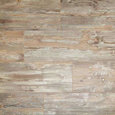 Take Home Sample - Weathered Fence Pine Laminate Flooring - 5 in. x 7 in.