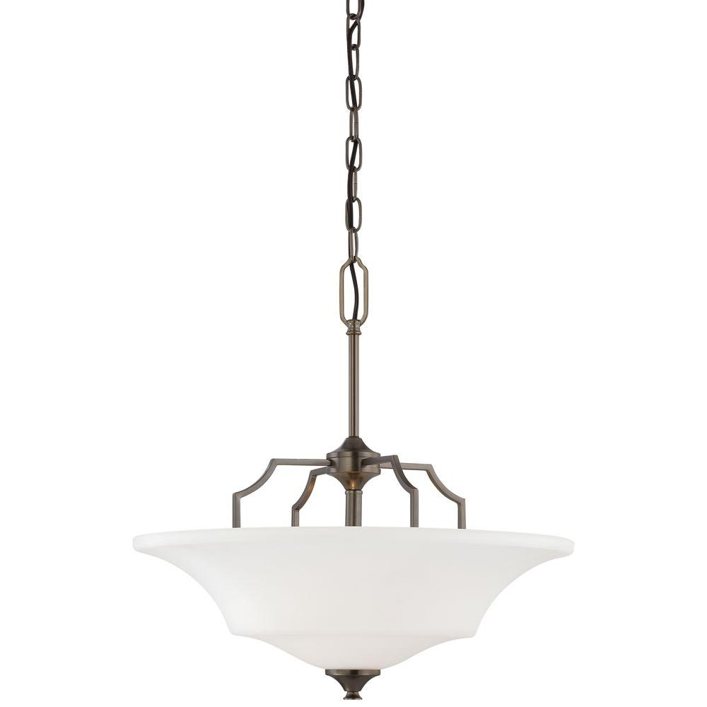 Thomas Lighting Chiave 2-Light Hanging Bronze Pendant-DISCONTINUED