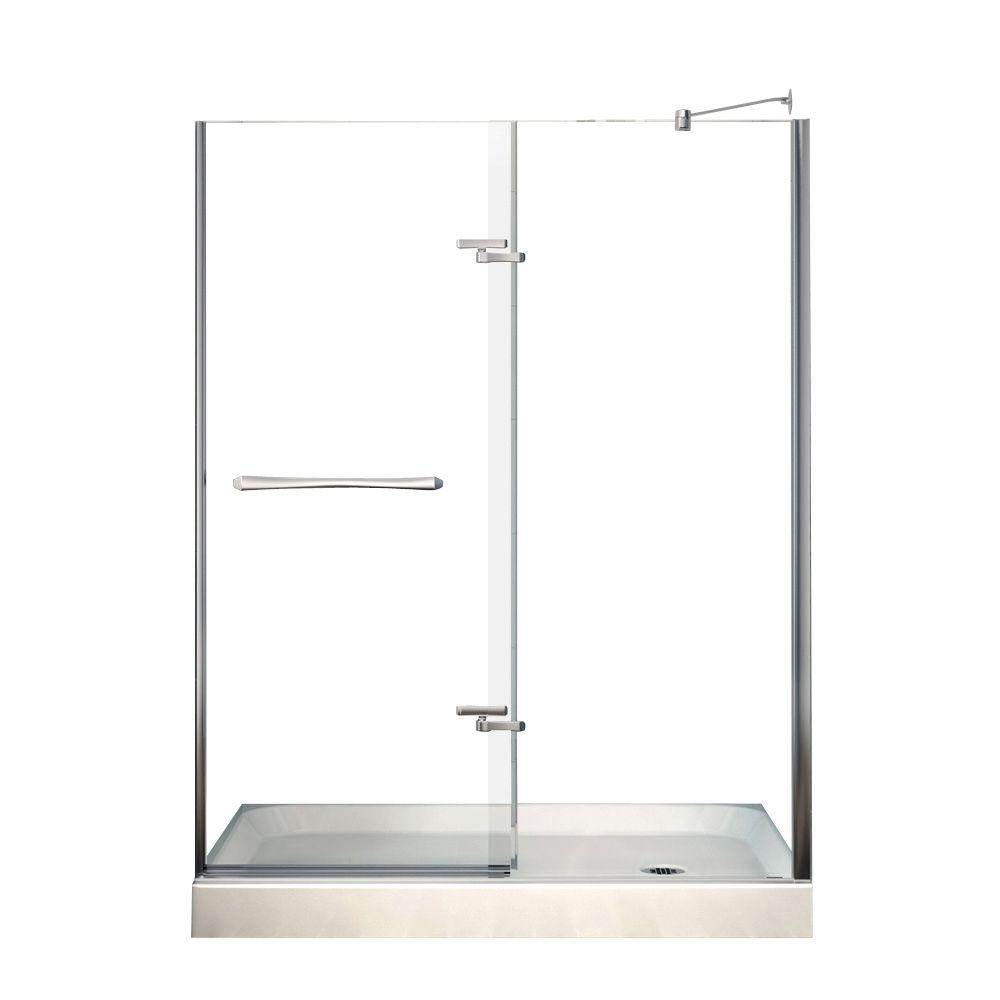 MAAX Reveal 32 in. x 60 in. x 76-1/2 in. Shower Stall in White