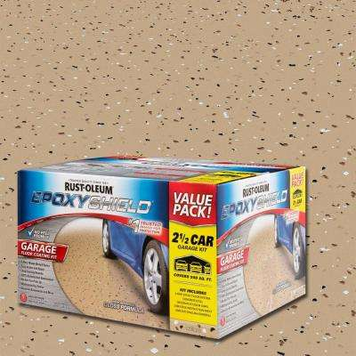 2 gal. Tan Garage Floor Epoxy