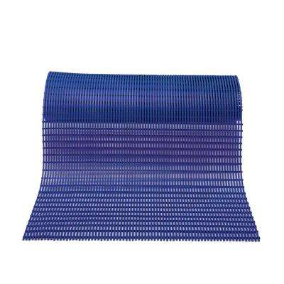 Barepath Oxford Blue 36 in. x 120 in. PVC Safety and Comfort Mat