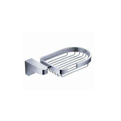 Generoso Soap Basket in Chrome
