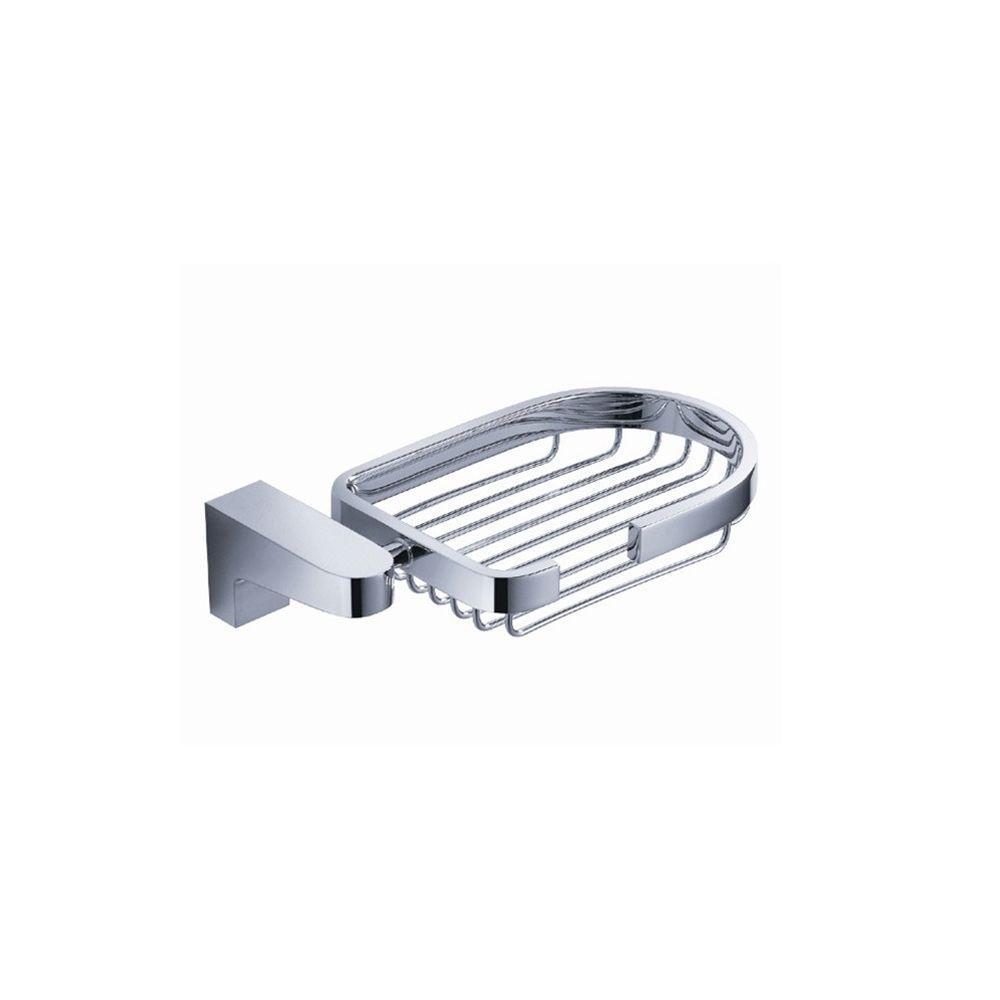 Generoso Soap Basket in Chrome